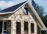 Монтаж фасадов, облицовка зданий кирпичом и камнем в Ангарске