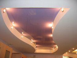 Ремонт и отделка потолков в Ангарске. Натяжные потолки, пластиковые потолки, навесные потолки, потолки из гипсокартона монтаж