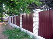 Строительство заборов, ограждений в Ангарске